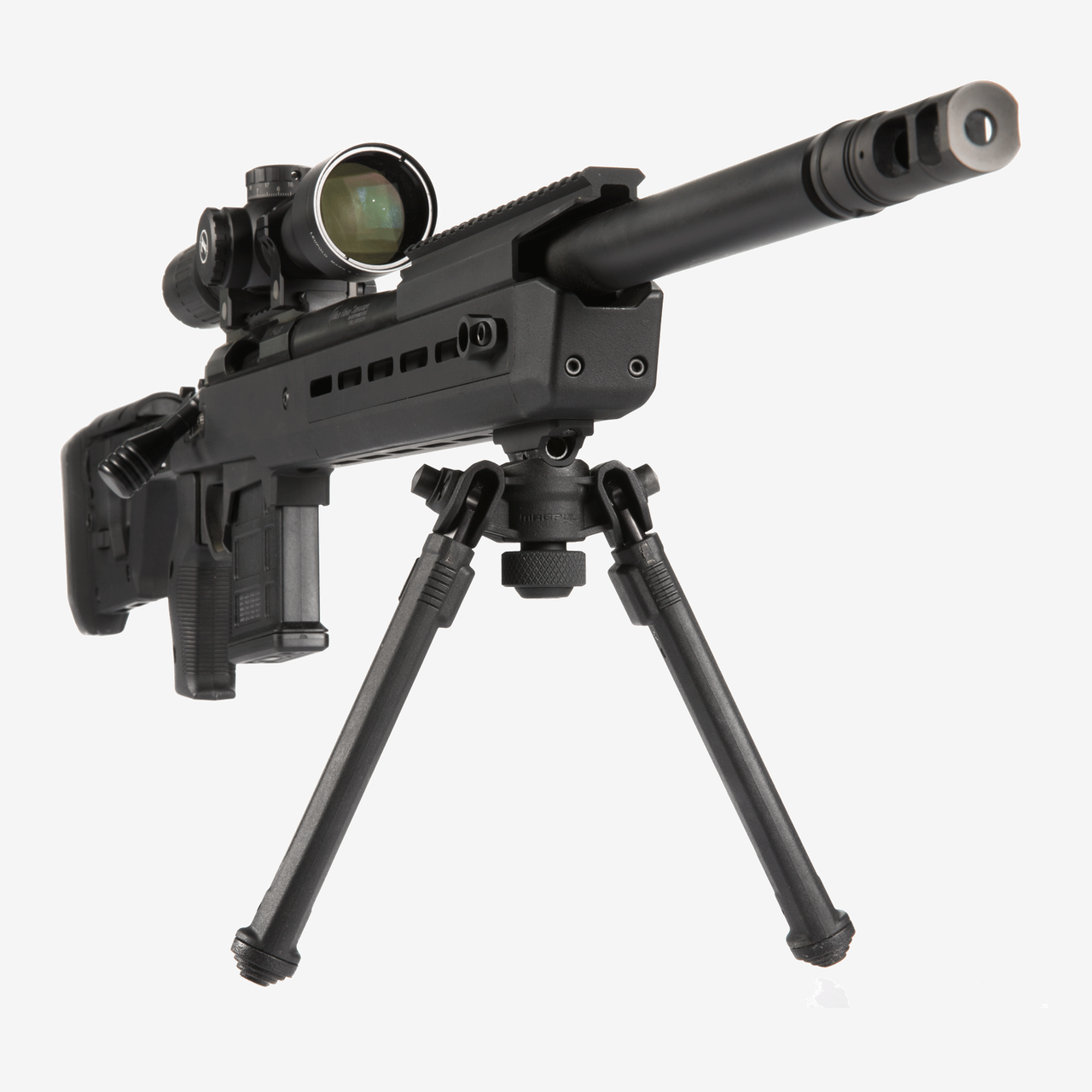 MAGPUL bipod on a rifle