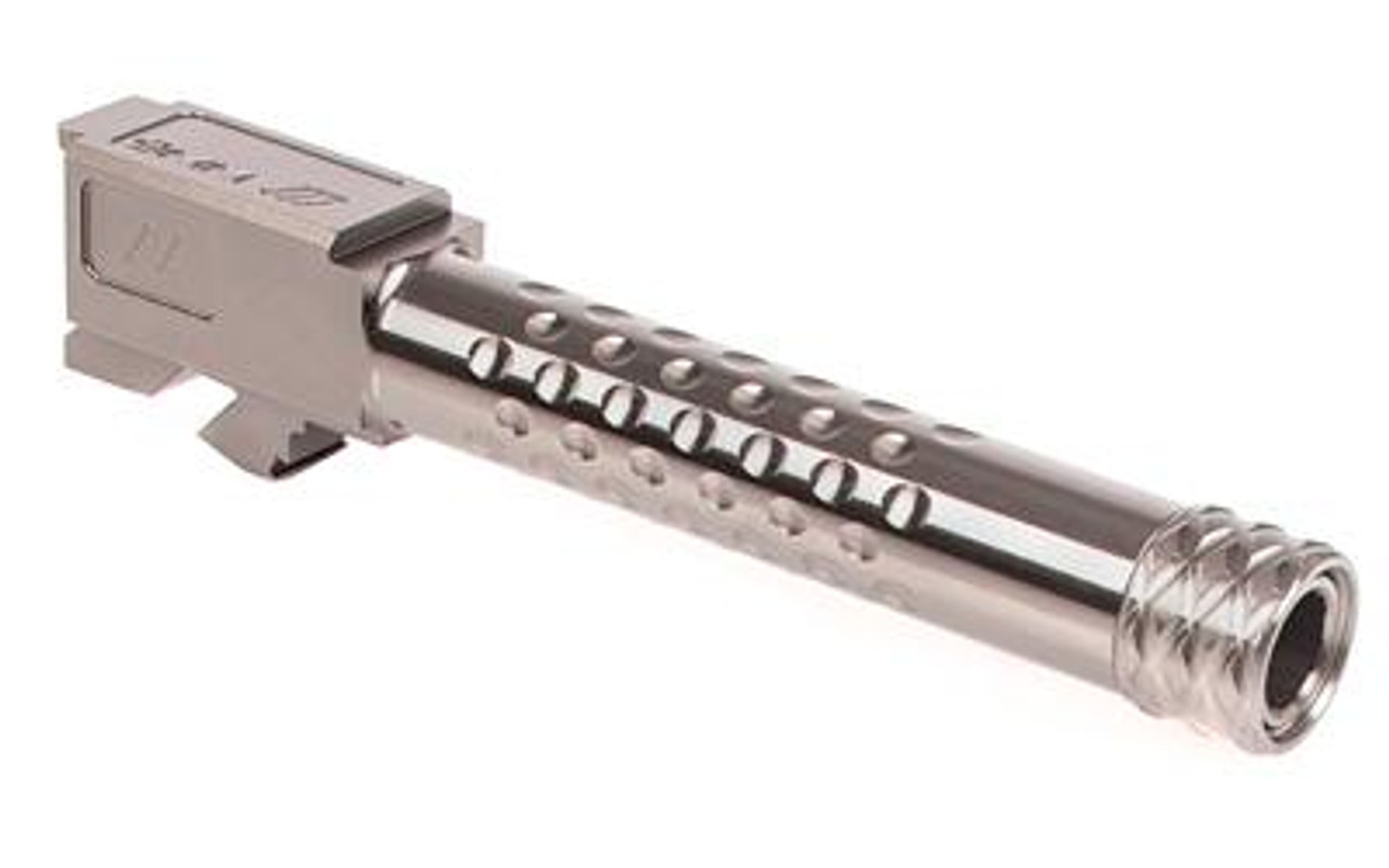 ZEV Technologies Barrel Replacement G19, Dimpled, Supp. Threaded (1/2x28)