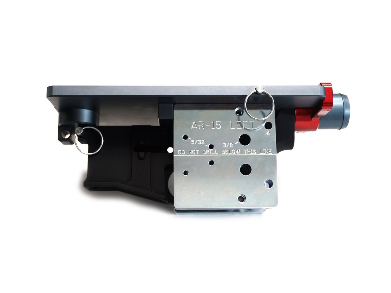 80 Percent Arms Easy Gen. 2 - Combined AR15 and .308 80% Lower with Jig, Tool Kit and Hand Drill Stabilizers - Ultimate Package