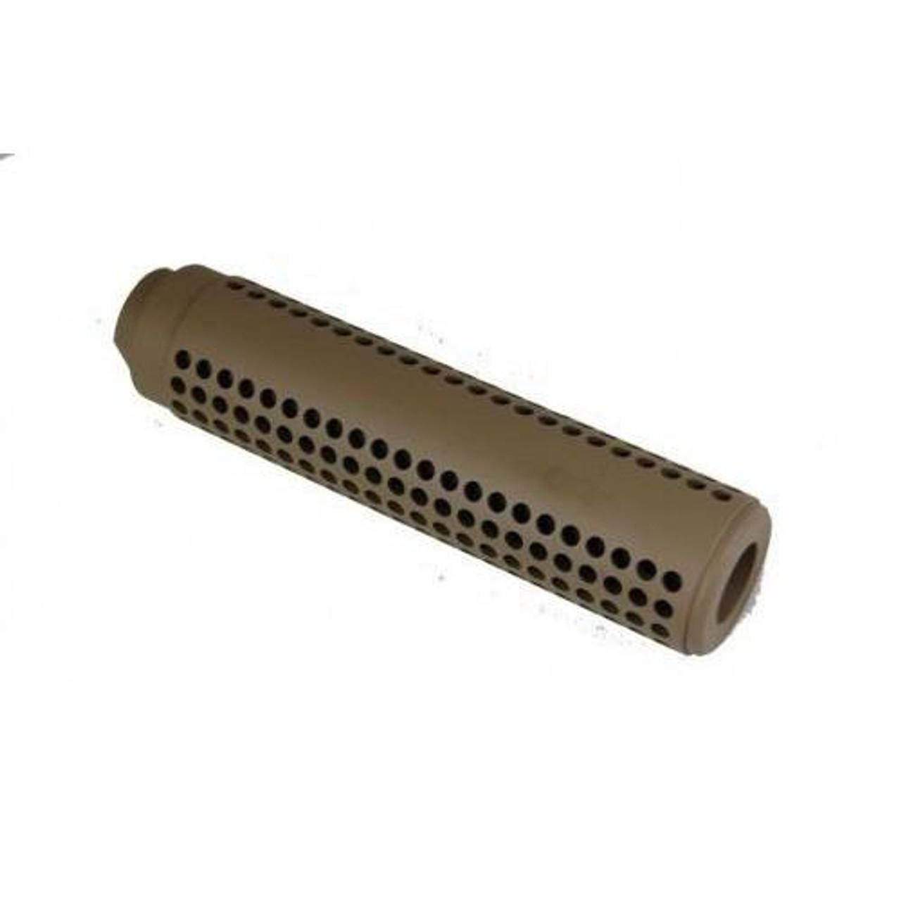 Guntec AR15 Reverse Thread Slip Over SOCOM Style Fake Suppressor - 1/2x28