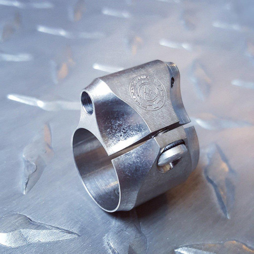 Master Of Arm Adjustable Titanium Gas Block