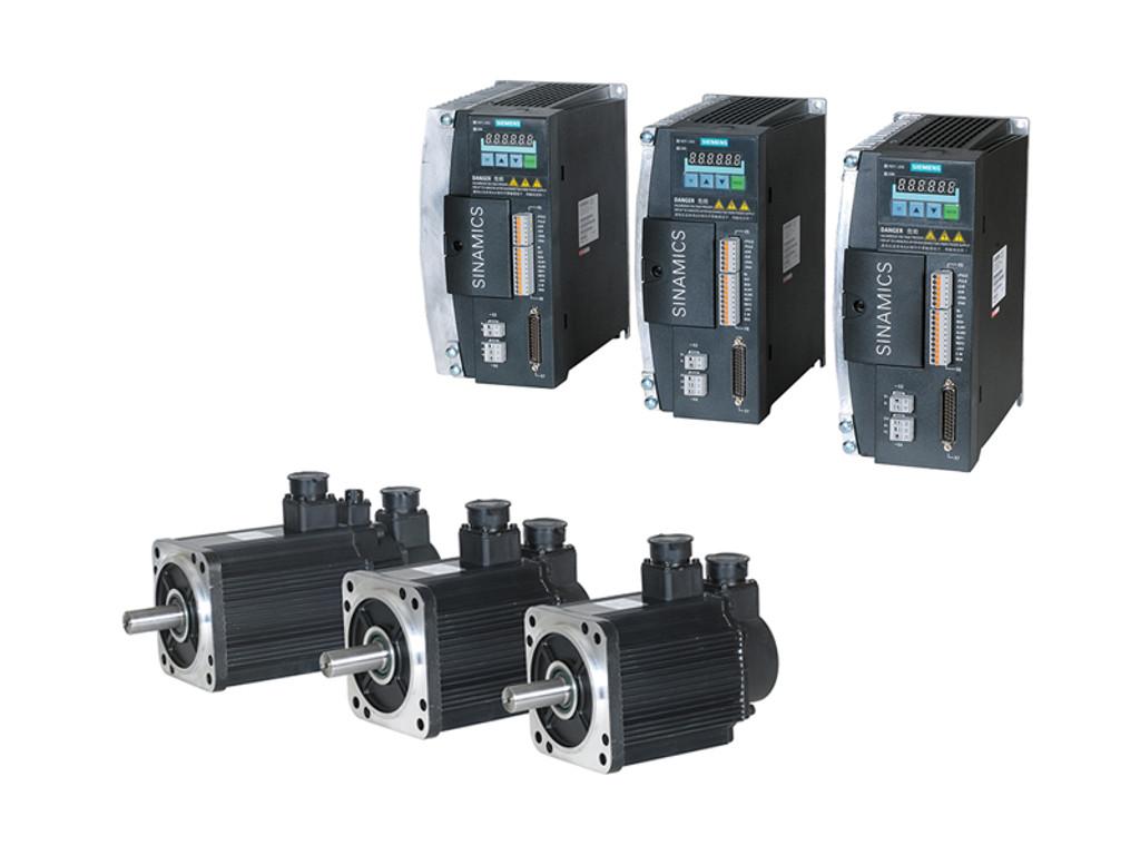 Siemens 808D Basic Drives and Motors