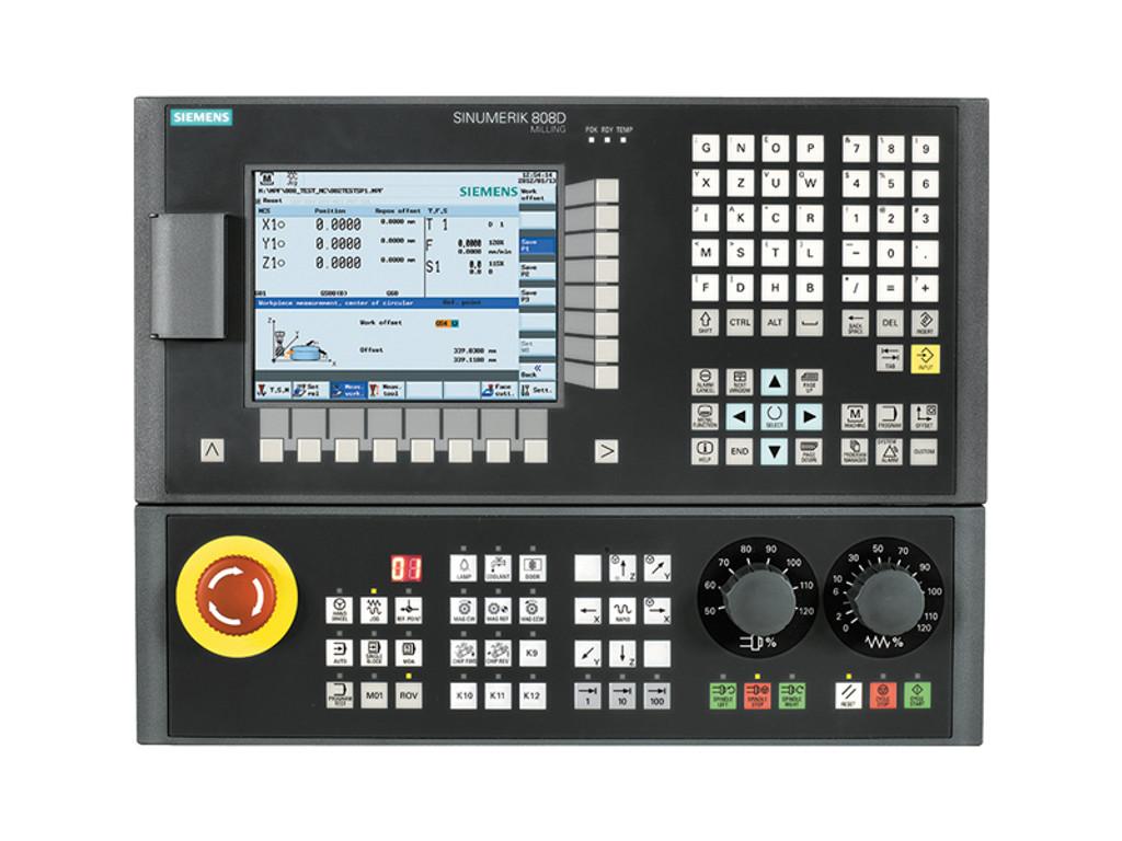 2-Axes Lathe CNC Retrofit Kit, Siemens 808D, Console Config.
