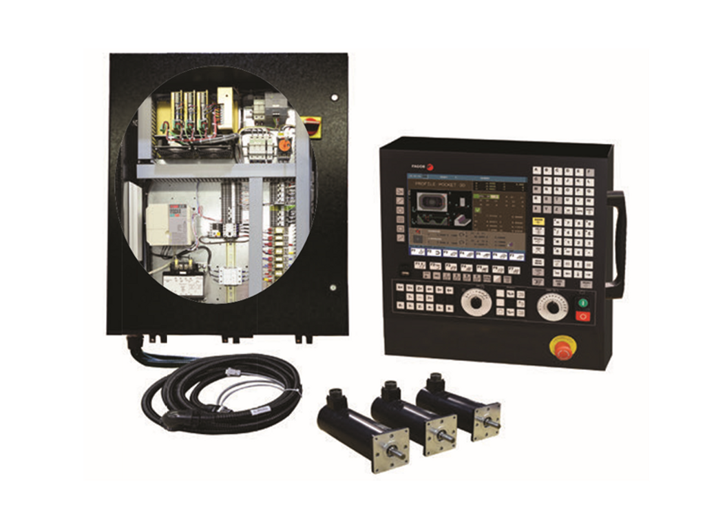 3-Axis Fagor 8055i CNC Kit for Bed Mill (Without Mechanical Hardware)