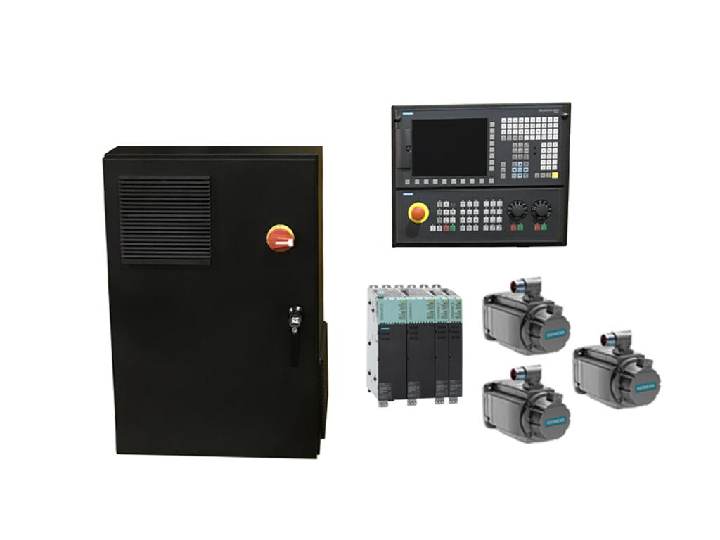Siemens 828D Large Bed Mill/VMC CNC Retrofit Kit (12Nm)