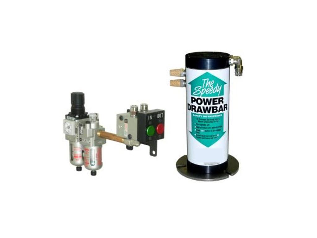 Servo Products - Speedy Air Powered Drawbar for Milling Machines