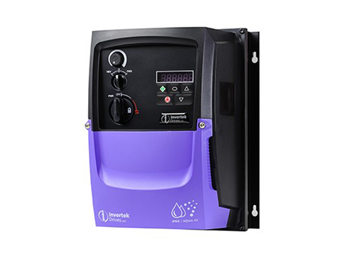 1hp OPTIDRIVE P2 230V 3Ø IN, 230V 4.3A 3Ø OUT with Brake Transistor - NEMA4X(IP66), complete with operator devices