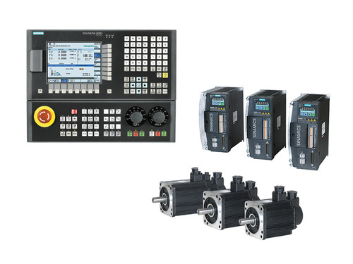 3-Axes (Hardware Only) Siemens 808D CNC Kit for Milling with Siemens Servo Motors & Drives