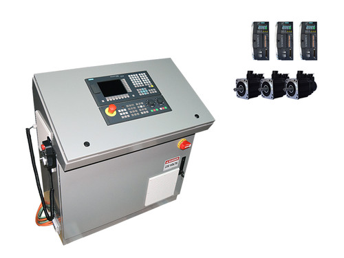3-Axes Siemens 808D Mill CNC Kit, Siemens Motors & Drives, Console Config.