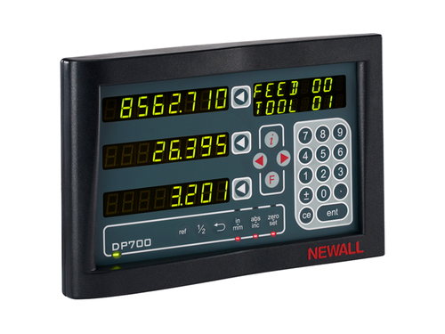 Newall Digital Readout - 3 Axis DP700 DRO Display