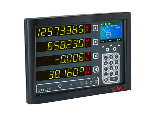 Newall Digital Readout - 4 Axis DP1200 DRO Display