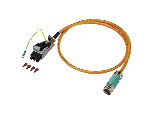 5m Pre-assembled Power Cable for 1FL5 Motors (1-10Nm)
