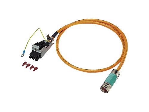 10m Pre-assembled Power Cable for 1FL5 Motors (1-10Nm)