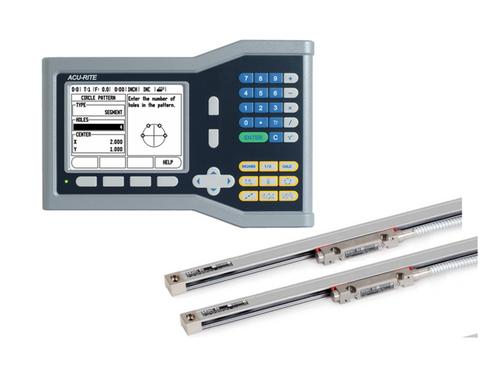 "Acu-Rite - VUE, 2 Axes, 10"" x 20"" Travel, Mill/Drill DRO Kit"