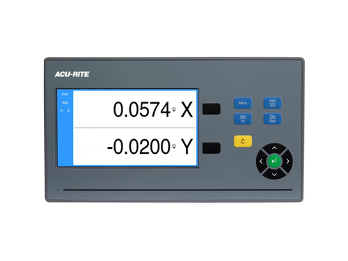"2 Axis Digital Readout for Milling Machine - 16"" x 36"" Acu-Rite DRO102 Mill DRO Kit"