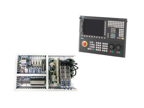 Siemens 828D Control-Only Retrofit Kit for CNC Milling Machines