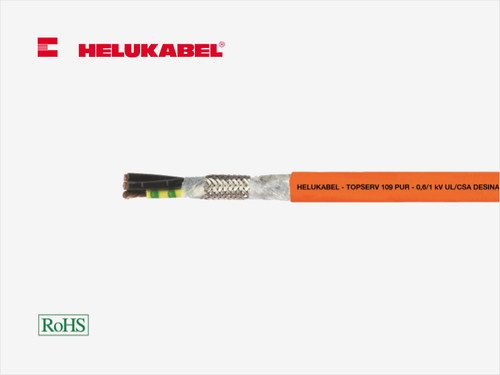 HELUKABEL TOPSERV 109 PUR High-Flex Motor Cable