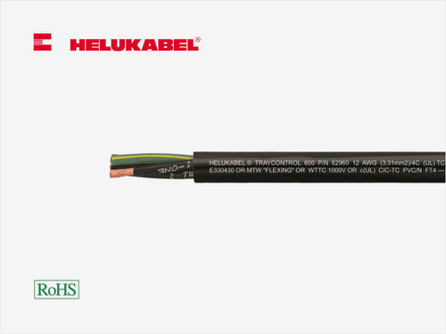 HELUKABEL TRAYCONTROL 600 High-Flex Control Cable