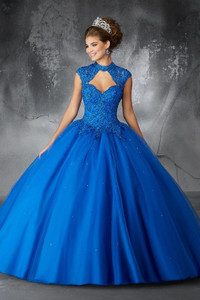 Blue Quinceanera Dresses