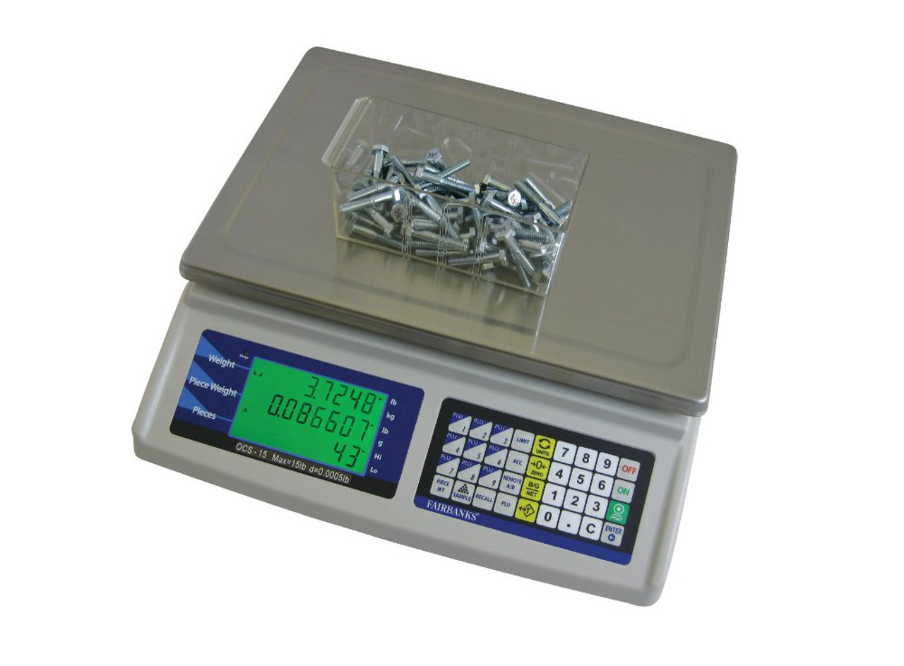 Fairbanks 1129 Series Dual Platform Portable Counting Scale