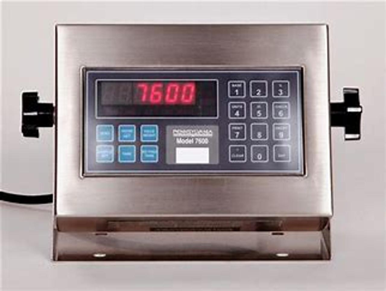 Pennsylvania 6600 Floor Scale with 7600 Indicator