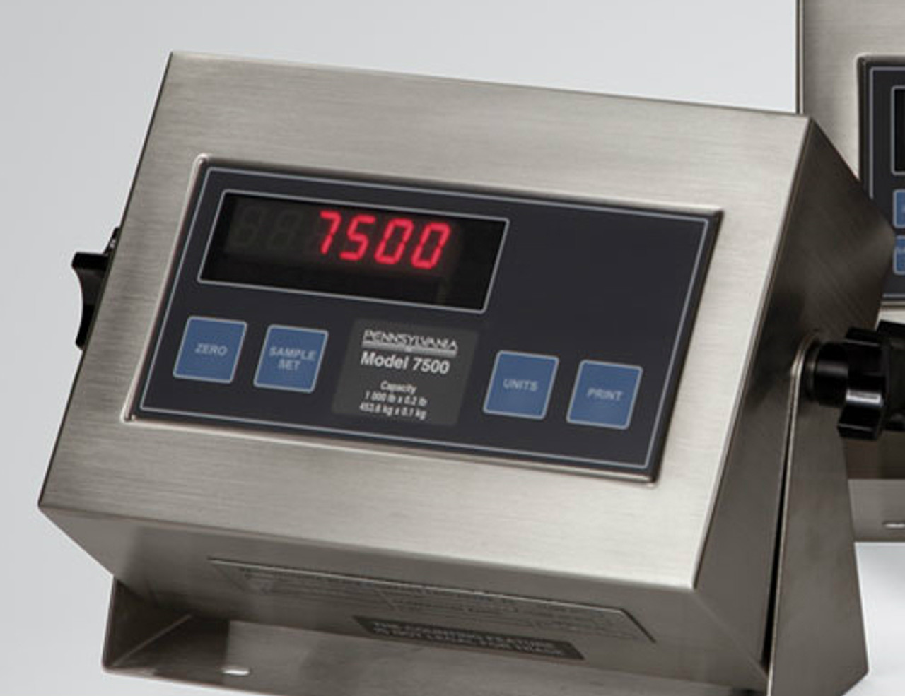 Pennsylvania 6600 Floor Scale with 7500 Indicator
