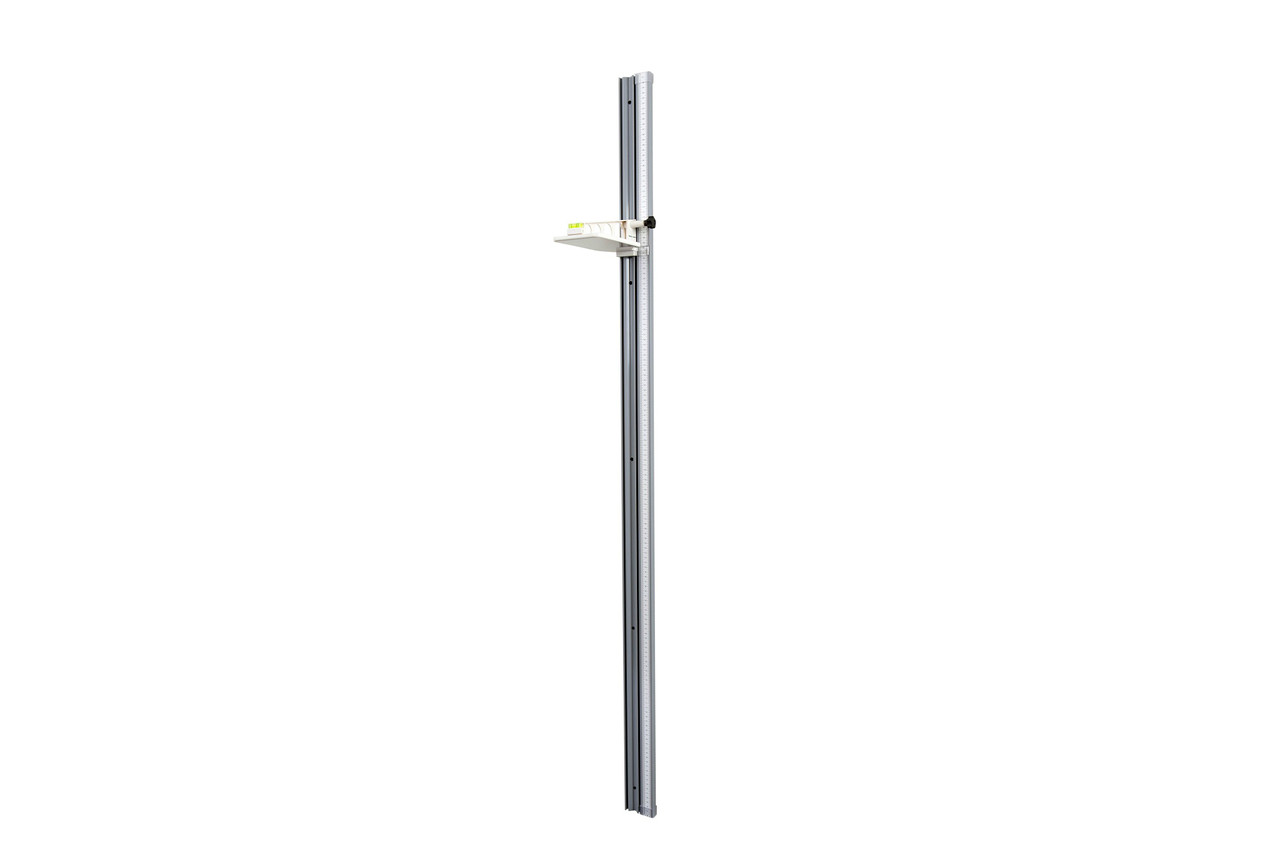 Health o meter 205HR  High-Strength Wall-Mounted Plastic Height Rod