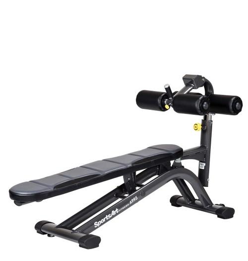 SportsArt Adjustable Crunch Bench