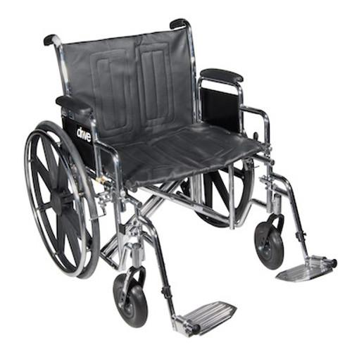 Drive Medical Sentra EC Heavy Duty - Dual Axle Wheelchair