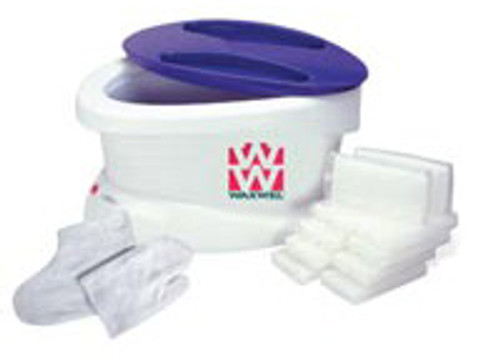 WaxWel Paraffin Bath with 6lb. unscented paraffin PLUS liners, mitt and bottie FE111600