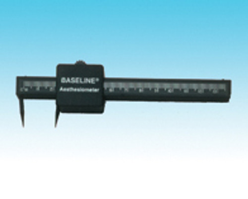 Baseline two-point discriminator (aesthesiometer)
