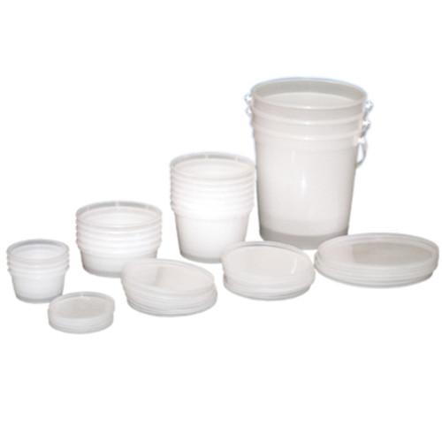 ProAdvantage Putty Cups with Lids 4oz - 25/Pk