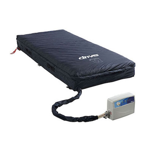 "Med-Aire Assure 5"" Air + 3"" Foam Base Alternating Pressure and Low Air Loss Mattress System"