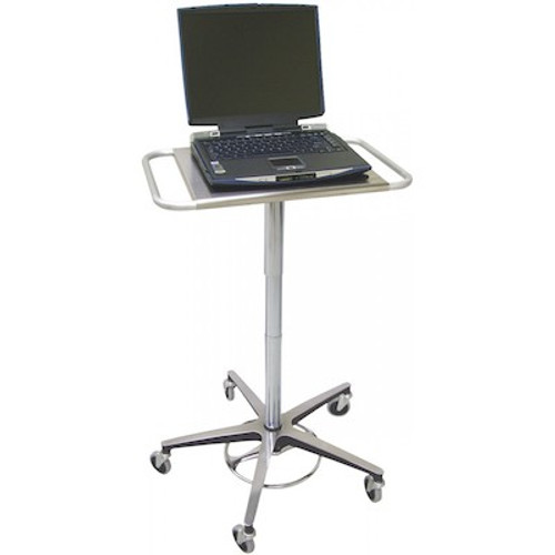 Omnimed Adjustable Laptop Transport Stand