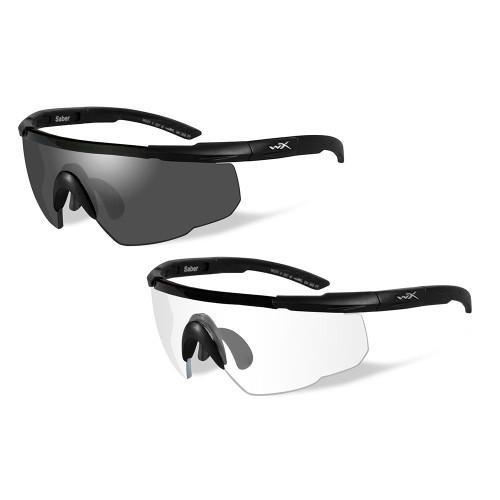 Wiley X Saber Advanced | Two Lens w/ Two Matte Black Frames