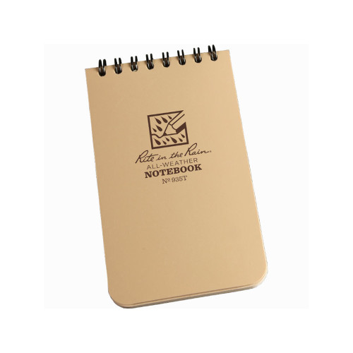 935T Tactical Pocket Notebook Tan