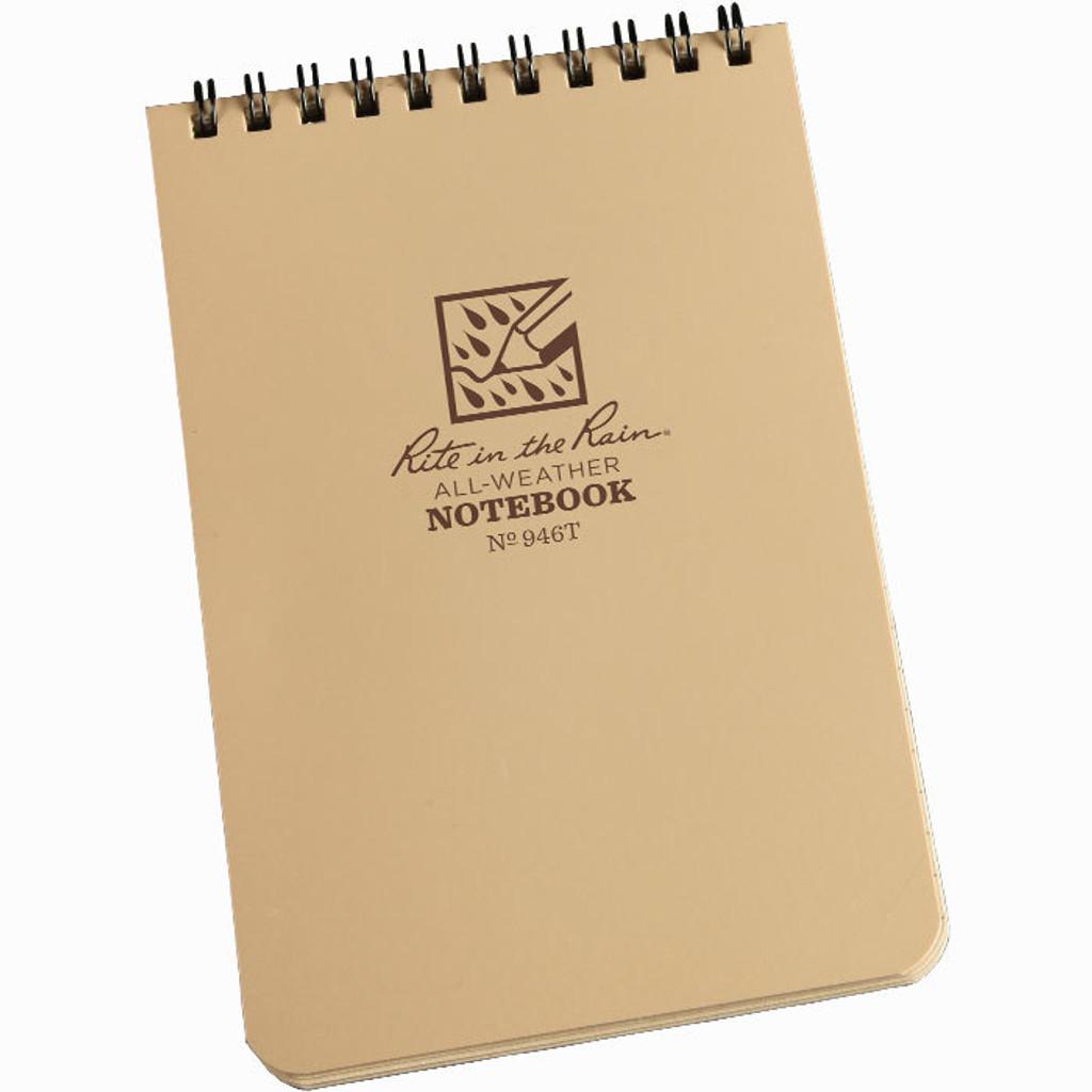 946T Tactical Pocket Notebook Tan