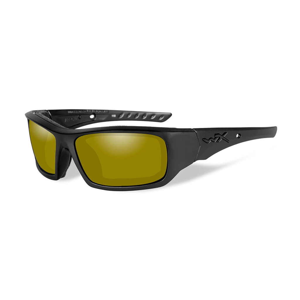 Wiley X Arrow | Polarised Yellow Lens w/ Matte Black Frame