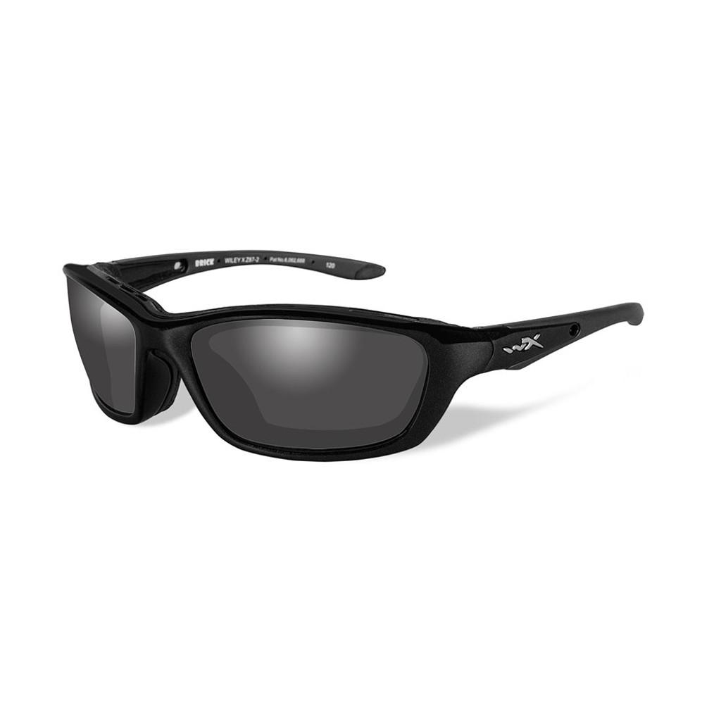 Wiley X Brick | Polarised Grey Lens w/ Gloss Black Frame