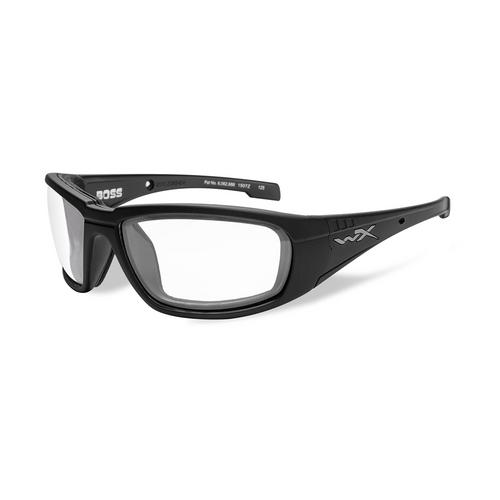 Wiley X Boss | Clear Lens w/ Matte Black Frame
