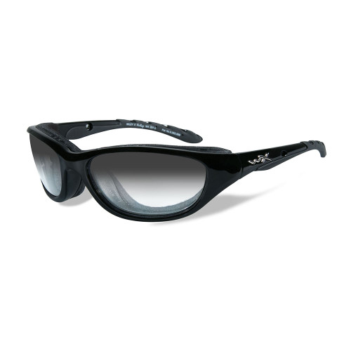 AirRage | Light Adjusting Grey Lens w/ Matte Black Frame