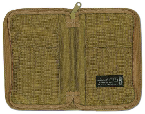 C980 Cordura Notebook Cover Tan