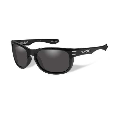 Wiley X Hudson | Smoke Grey Lens w/ Gloss Black Frame