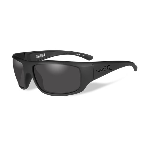 Wiley X Omega | Smoke Grey Lens w/ Matte Black Frame