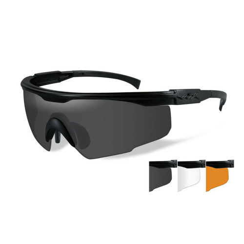 PT-1SCL | Three Lens w/ Matte Black Frame
