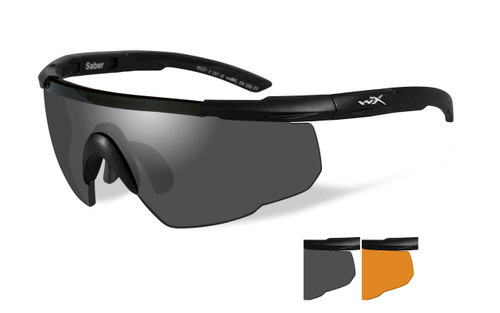 Saber Advanced   Grey and Rust Two Lens w/ Matte Black Frame