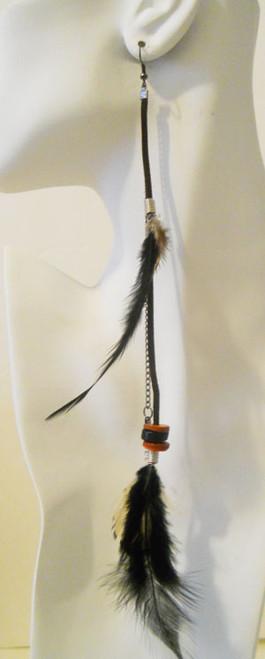 Feather Earrings-1796