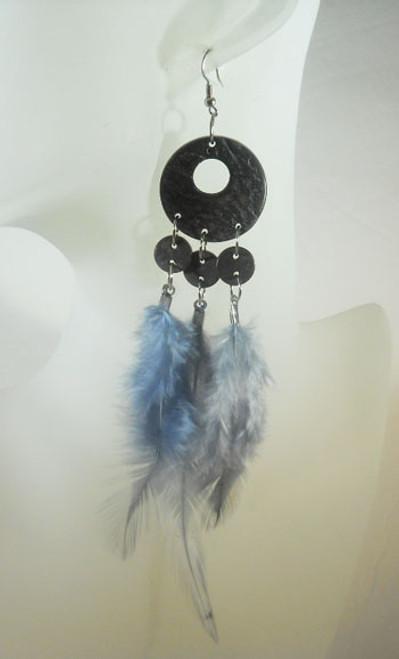 Feather Earrings-4693