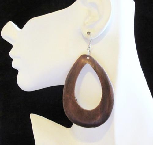 Wood Earrings-13946