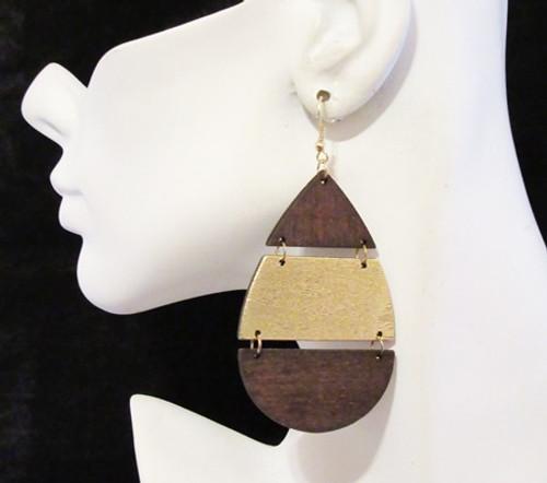 Wood Earrings-12931